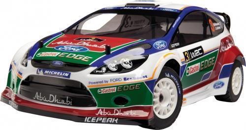 WR8 3.0 RTR 2011 Ford Abu Dhabi Castrol Fiesta WRC (1/8 Nitro)