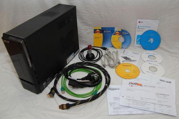 Acer Aspire X3900 Multimedia Mini PC - Intel Core I5 - 1TB HDD - 6GB DDR3 RAM
