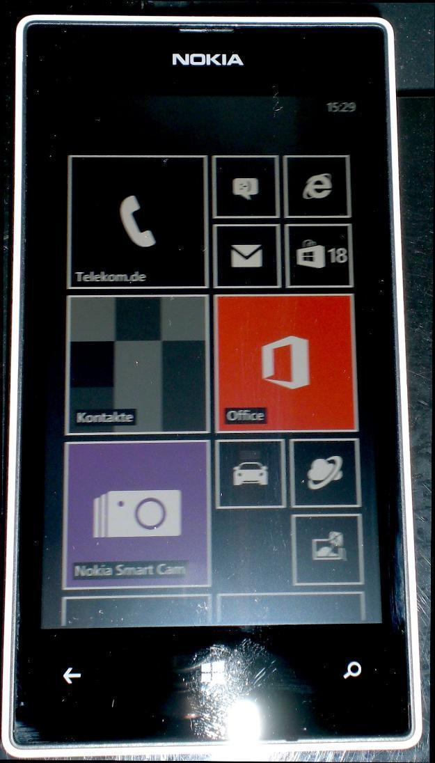 Nokia Lumia 520 - 8 GB - weiß (ohne Simlock) Smartphone