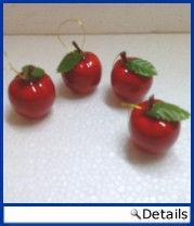 Weihnachts Äpfel Rot