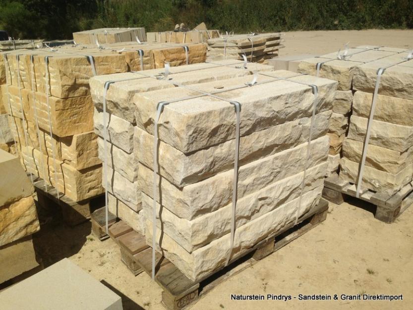 Sandstein Blockstufen, Treppen 100*30*10 cm