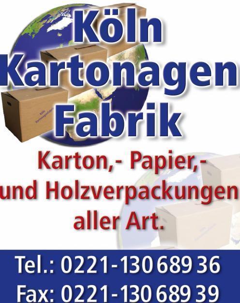 KÖLN:Top Angebot 50 Umzugskartons  NUR 49,50€