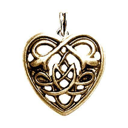 CELTIC CROSS vergoldet keltischer Kettenanhänger Amulett Medallion Pendant