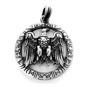 Kettenanhänger Amulett Siegelring Keltenschmuck Wikingerschmuck nordischer Schmuck Gothic