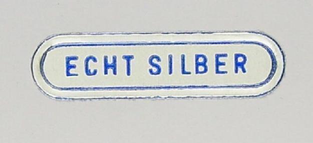 Etik.Echt Silber 100 Stk.