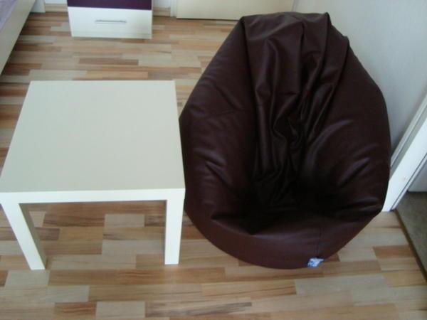 XXL Leder Stuhl und Tisch in nur 30 € !!!