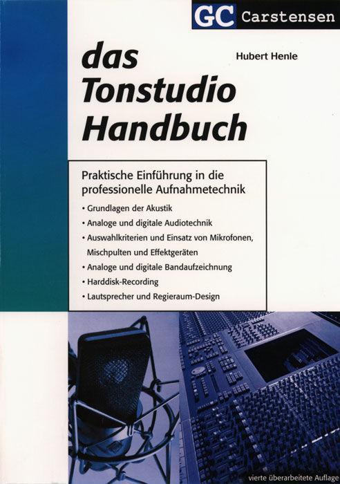 CARSTENSEN Das Tonstudio Handbuch, Hubert Henle