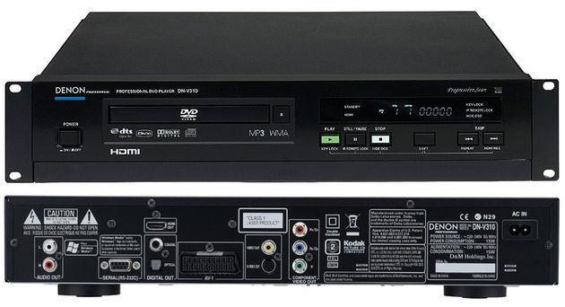 DENON DN-V310 DVD Player inkl. Fernbedienung