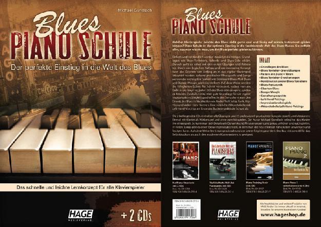 HAGE Blues Piano Schule /2 CDs, M.Gundlach