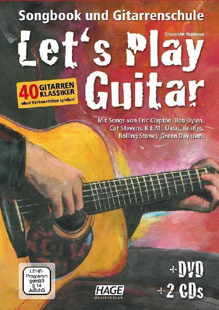 HAGE Lets Play Guitar /CD/DVD
