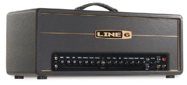 LINE 6 DT–, 50 HD Head 50Watt