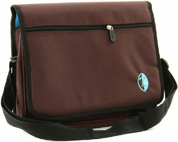 NAMBA GEAR Kucha iPad Messenger Bag brown/blue