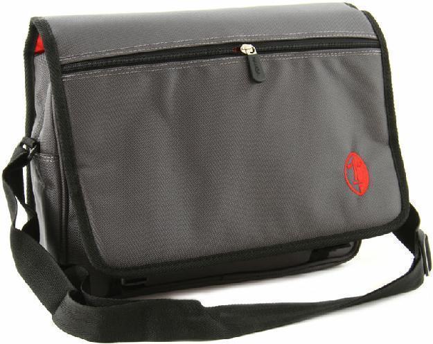 NAMBA GEAR Kucha iPad Messenger Bag dark grey/red