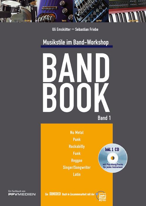 PPVMEDIEN Band Book Band 1 /CD, Uli Emskötter, Seb