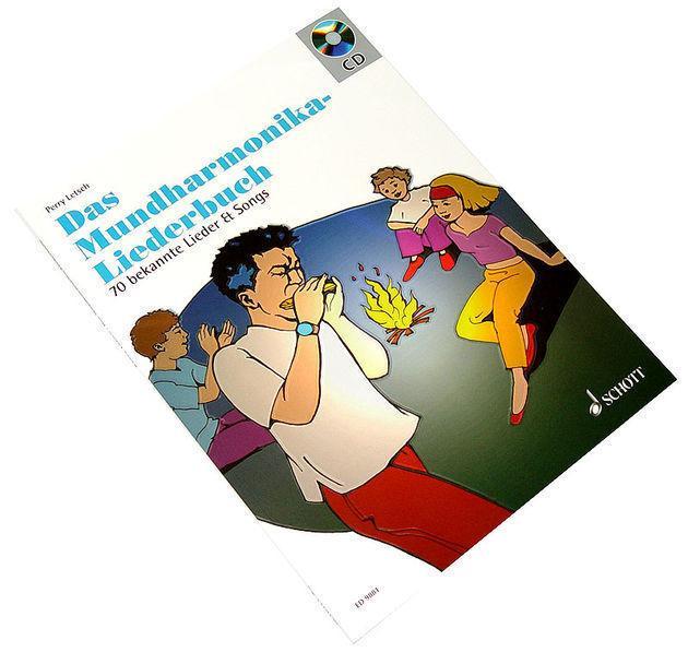 SCHOTT Das Mundharmonika-Liederbuch /CD