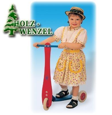 Kinder-Roller - Loreen aus naturbelassenem Holz
