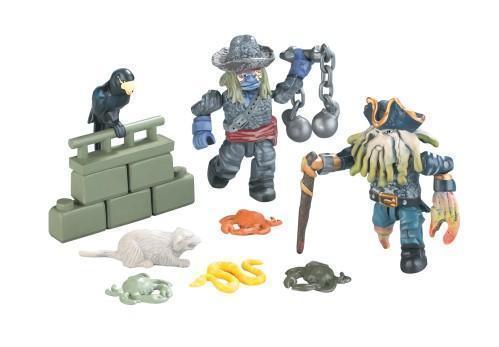 Piraten der Karibik - Battle Pack Figurensortiment von Mega Bloks