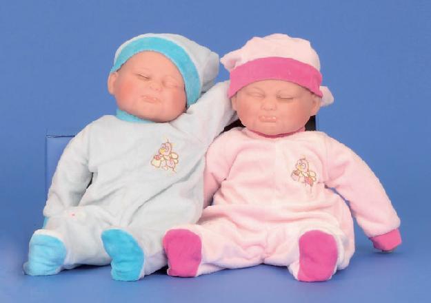 Puppe Venyl-Baby schlafend