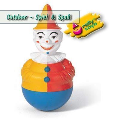 Rolly Toys - Stehaufclown - Clown - mit Glockensound