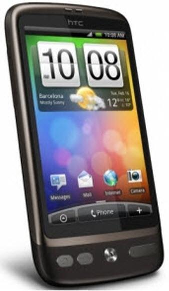 HTC Desire Smartphone (5 MP, AMOLED, HSPA, Android 2.1)
