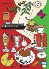 Spardosen-Grußkarte-Kaffe-Kasse