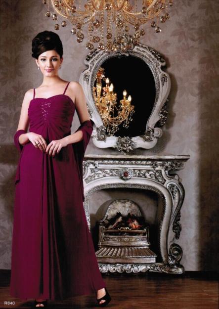 Atemberaubendes Abendkleid/Ballkleid von Lautinel mit passender