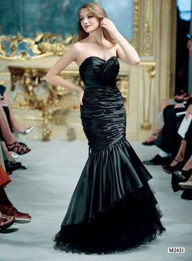 Elegantes Abendkleid Einmal Meerjungfrau sein Gr.38