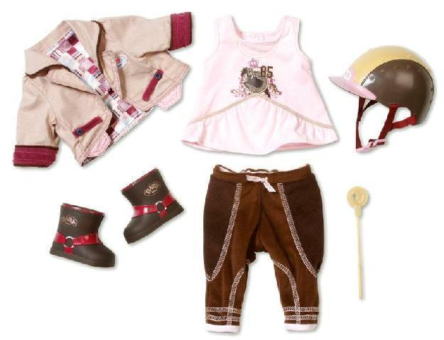 BABY born® Deluxe Reiter Outfit