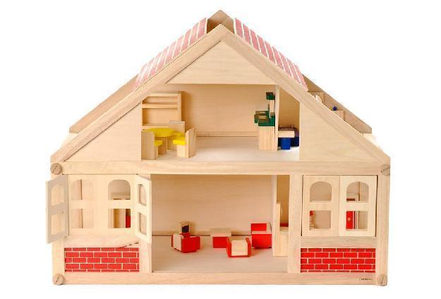 BEEBOO Puppenhaus mit Zubehör