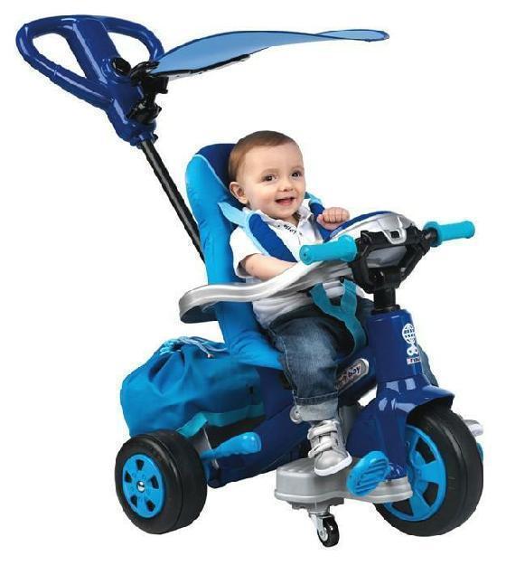Dreirad Baby Twist Boy mit Schiebegriff