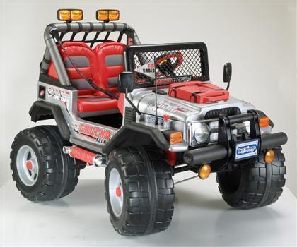 Elektrofahrzeug Peg Perego Jeep Gaucho 12 Volt