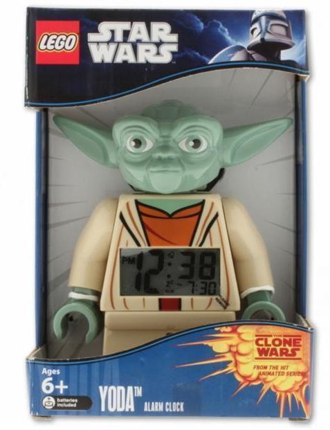 LEGO® Star Wars™ Wecker Yoda