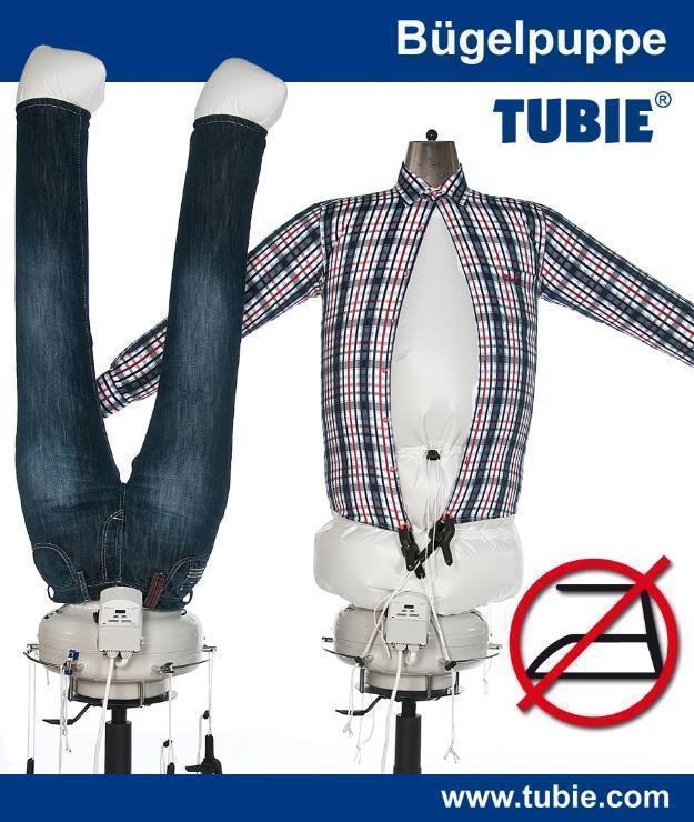 Tubie - und das Bügeln hat ein Ende