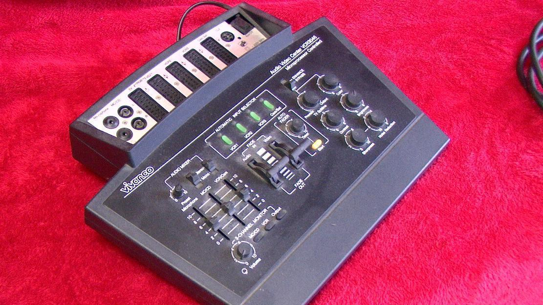 Audio Video Center von VIVANCO VCR 3046 Videos produzieren, Mischpult für viele Geräte -An
