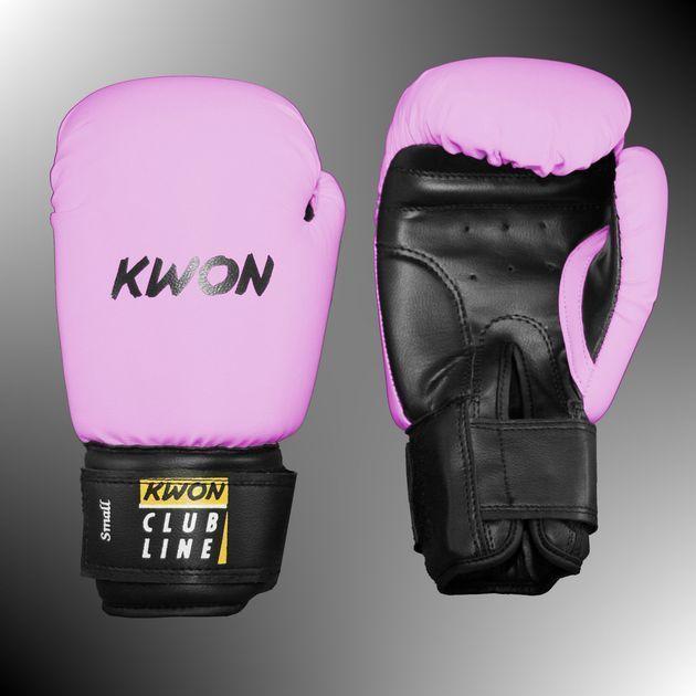 Boxhandschuhe POINTER SMALL HAND von KWON®, 8 Oz. pink
