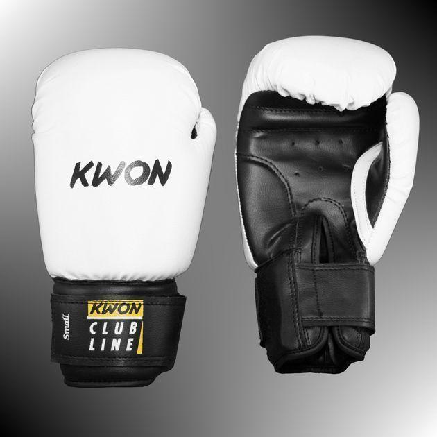Boxhandschuhe POINTER SMALL HAND von KWON®, 8 Oz. weiß