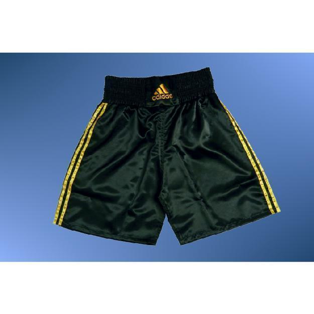 Box Hose MULTI von adidas®, schwarz/gold