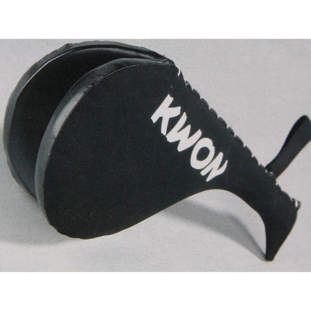 Doppel Hand Mitt DARK LINE von KWON®, schwarz