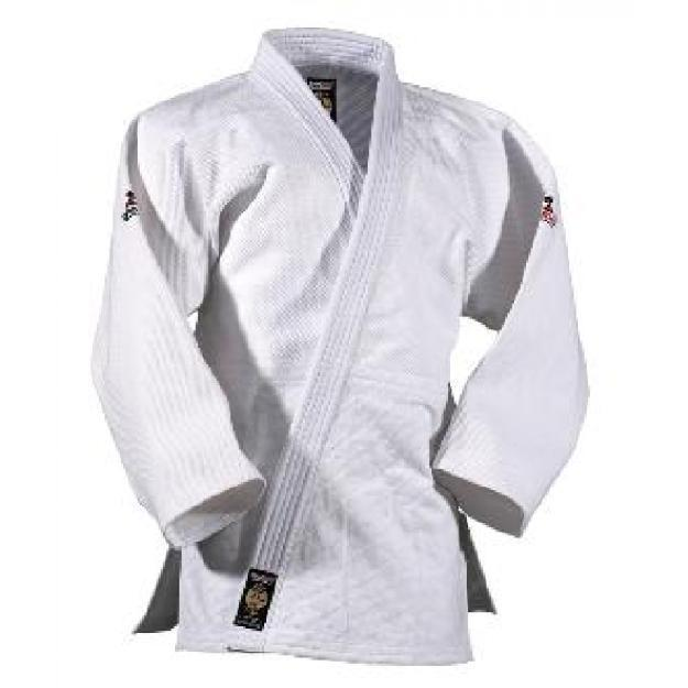 Judo Anzug SENSEI von DANRHO®, weiß, in Zwischengröße S