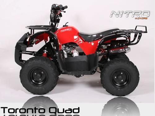Kinderquad Quad ATV Toronto 125ccm mit Rückwärtsgang