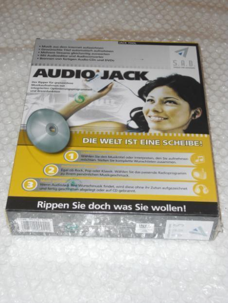 AudioJack Internet-Radio-Rekorder
