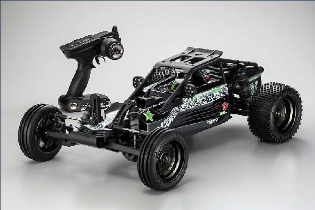 1:7 GP 2WD RTR Scorpion XXL, schwarz