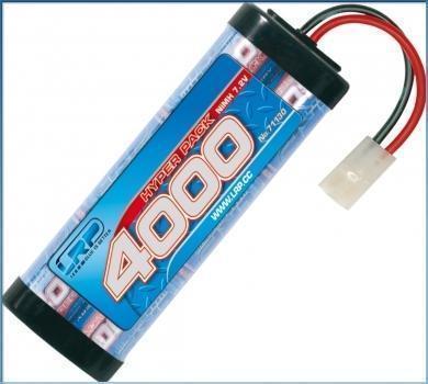 LRP Hyper Pack 4000 - 7.2V - 6-Zellen NiMH Stickpack MH Stickpack