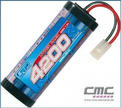 LRP Hyper Pack 4200 - 7.2V - 6-Zellen NiMH Stickpack MH Stickpack