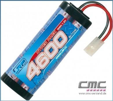 LRP Hyper Pack 4600 - 7.2V - 6-Zellen NiMH Stickpack MH Stickpack