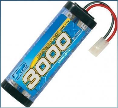 LRP Power Pack 3000 - 7.2V - 6-Zellen  NiMH Stickpack MH Stickpack
