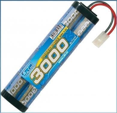 LRP Power Pack 3000 - 9.6V - 8-Zellen  NiMH Stickpack MH Stickpack