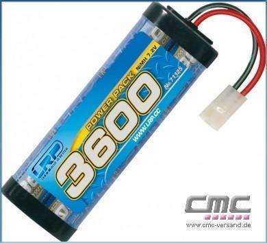 LRP Power Pack 3600 - 7.2V - 6-Zellen  NiMH Stickpack MH Stickpack