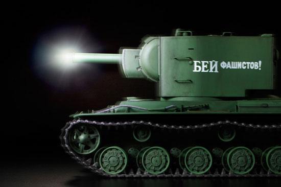 RC-Panzer WWII Rus. KV-2 m.1/16