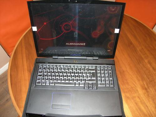 Alienware M17X Mlk Gaming Laptop i.7 Processor